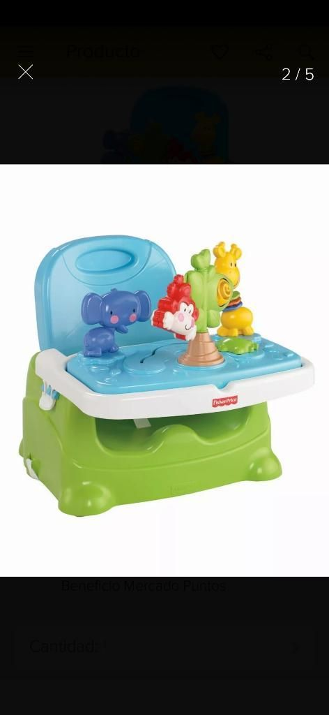 Comedor Adaptable Fisher Price