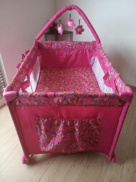 Cuna Corral Magic Pink Bebesit