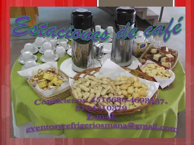 SERVICIO Y ALQUILER DE ESTACIONES DE CAFE EN BOGOTA