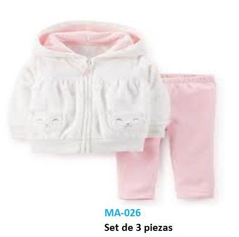 Venta de ropa de bebe americana marca Carteres al por mayor,