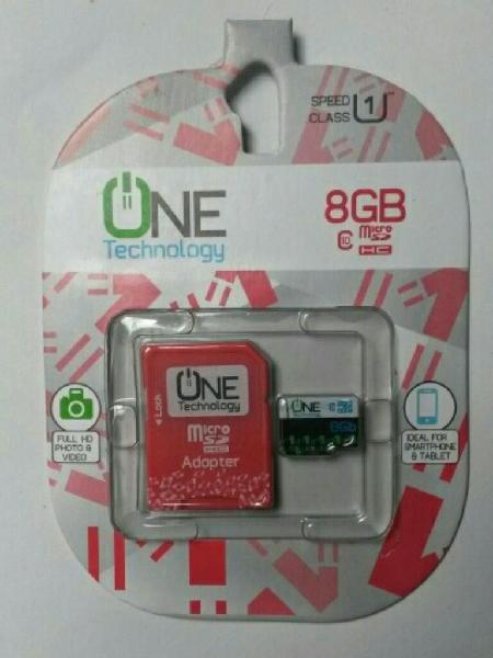 Memoria Micro Sd 8 Gb Clase 10 Original