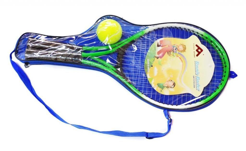 Raqueta Tenis Fuhua Para Niños Kit X 2 Unidades Pelota