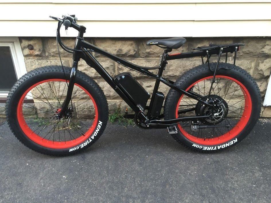 Bicicleta Eléctrica AUTONOMIA: 50KM de recorrido por carga