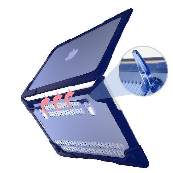 Carcasa Protectora Apple Macbook Air 11.6 Azul Antichoque