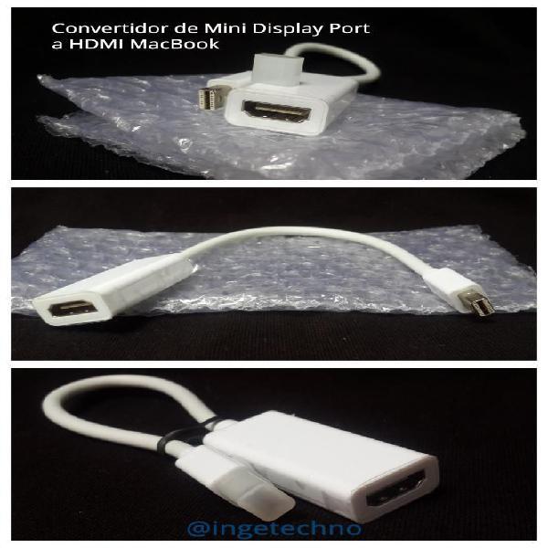 Convertidor Mini Display a Hdmi