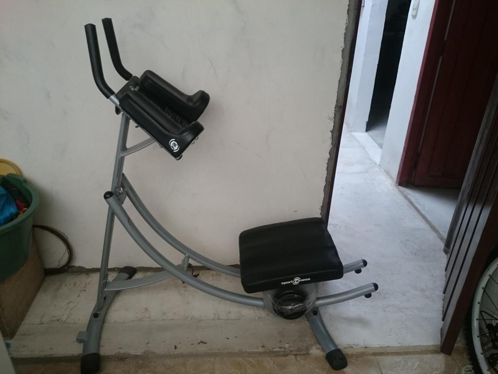 Maquina para hacer ejercicio llamar cel