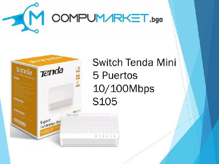 Switch Tenda mini 5 puertos s105 nuevo y facturado