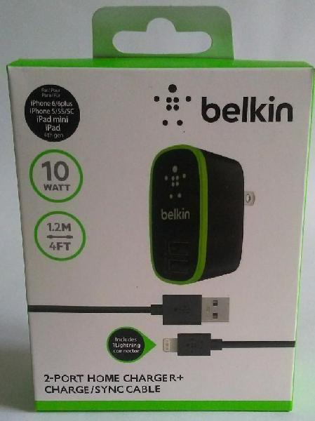 Belkin Carga Rápida Cable Usb iPhone