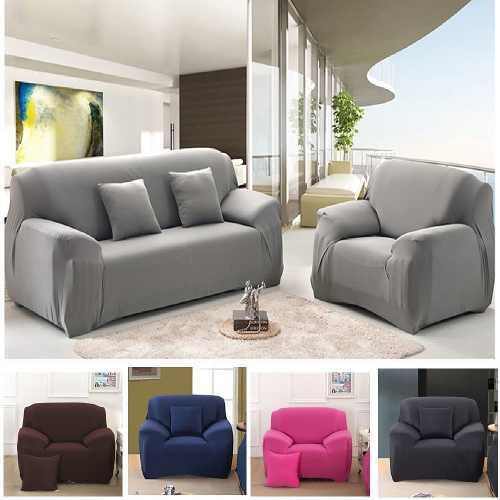 Forro Funda Protector Para Sofa Mueble Sala 2 Puestos