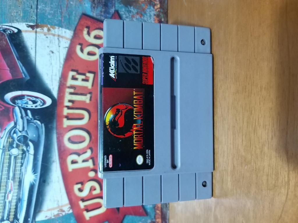 Juego Original para Consola Super Nintendo Snes Mortal