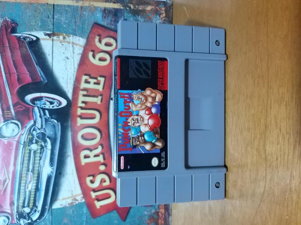Juego Original para Consola Super Nintendo Snes Super Punch