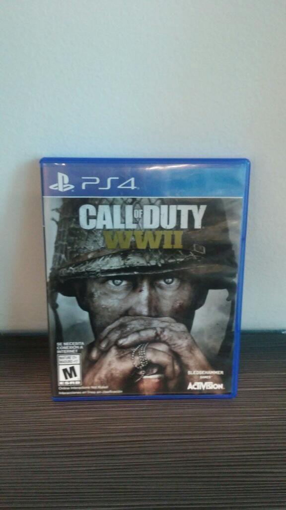 Juego de Ps4 Call Of Duty World War 2