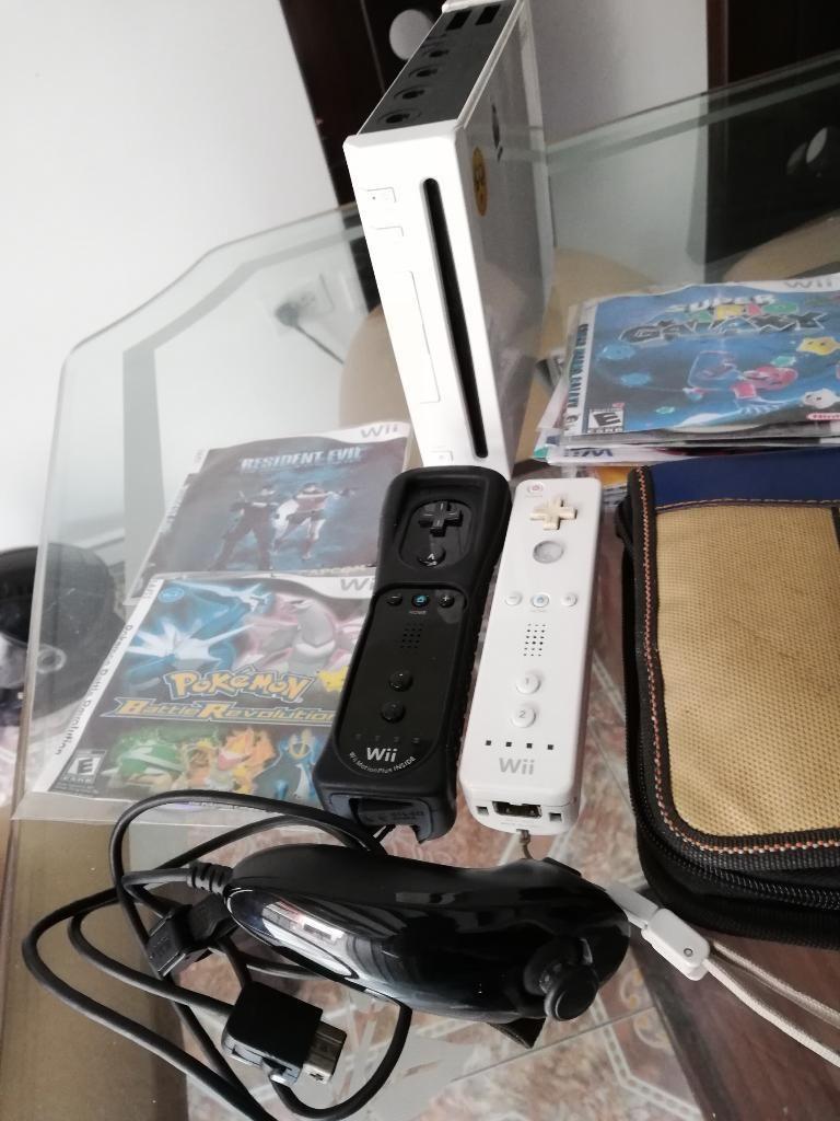 Nintendo Wii 2 Controles Más de 50juegos