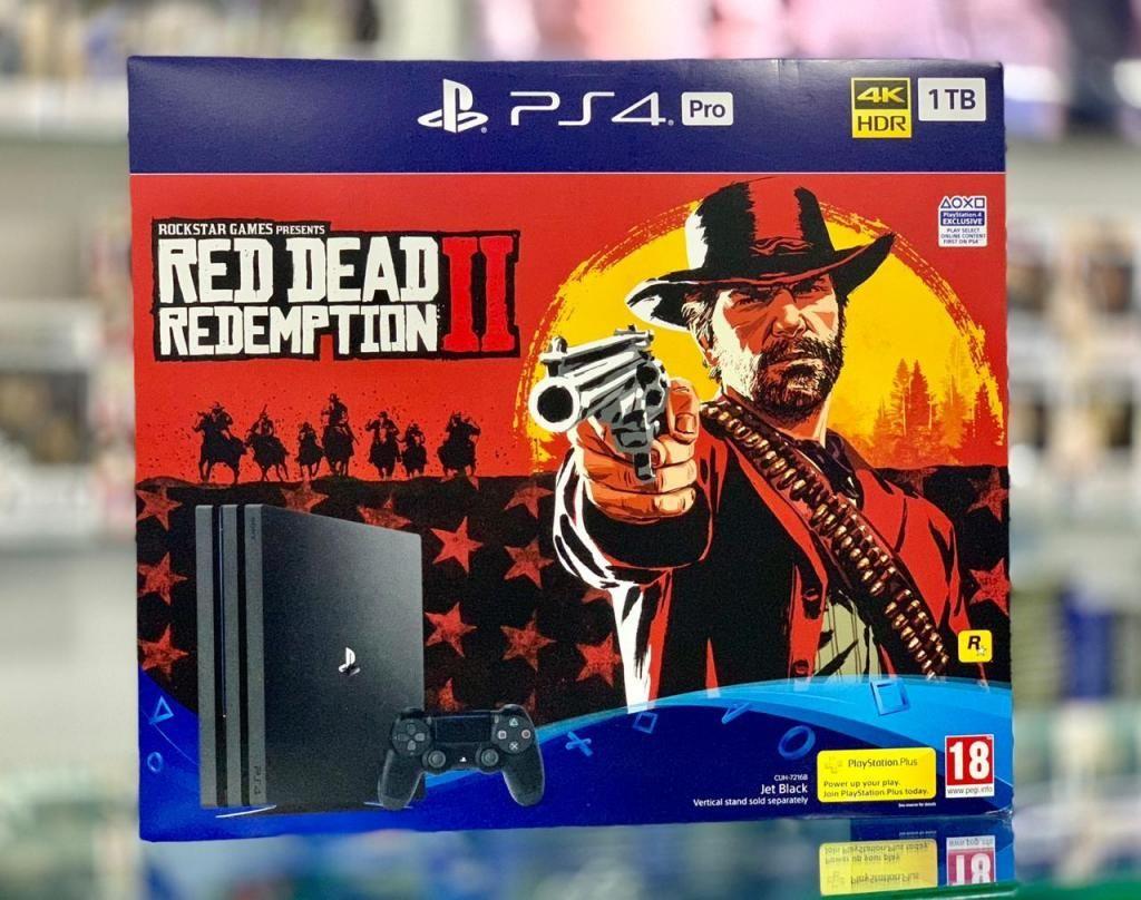 PS4 PRO RED DEAD NUEVAS SELLADAS A DOMICILIO