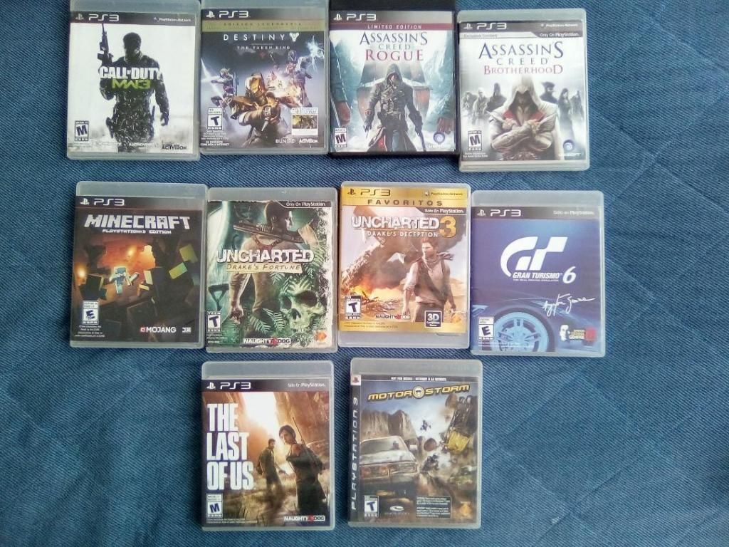 Video juegos PS3