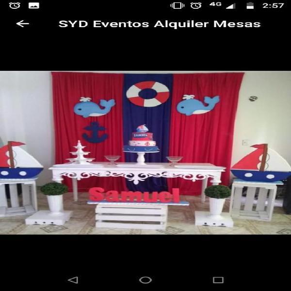 Alquiler de Sillas Y Tablones Y Carpas
