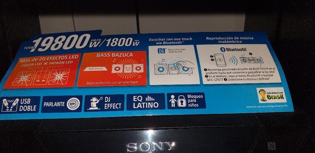 Se Vende Equipo Sony Es de Los Modernos