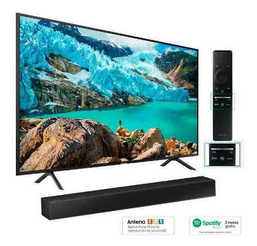 Tv Samsung 50 Uhd 4k Smart Tv + Barra De Sonido + Spotify