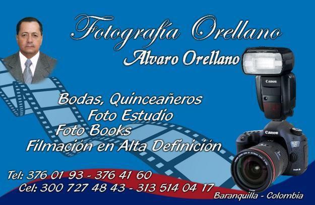 filmación profesional. Barranquilla. Tel. 3126143527..