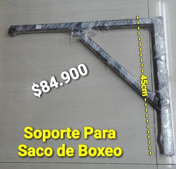 BARRA SOPORTE PARA SACO DE BOXEO 45X45