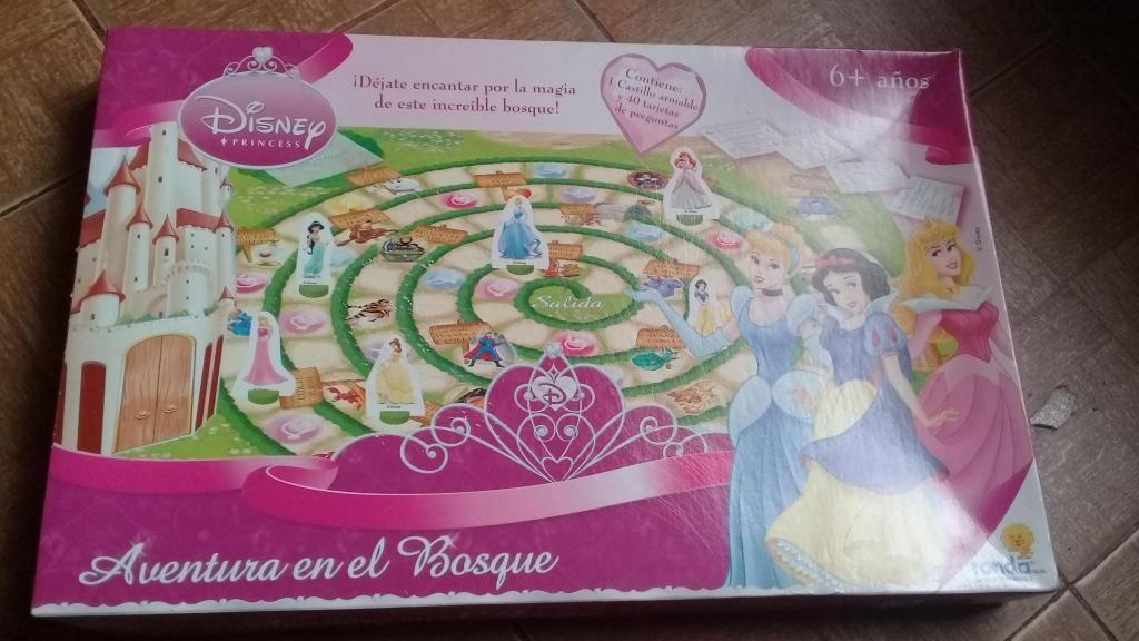 Juego de mesa Disney Princesas, original Ronda