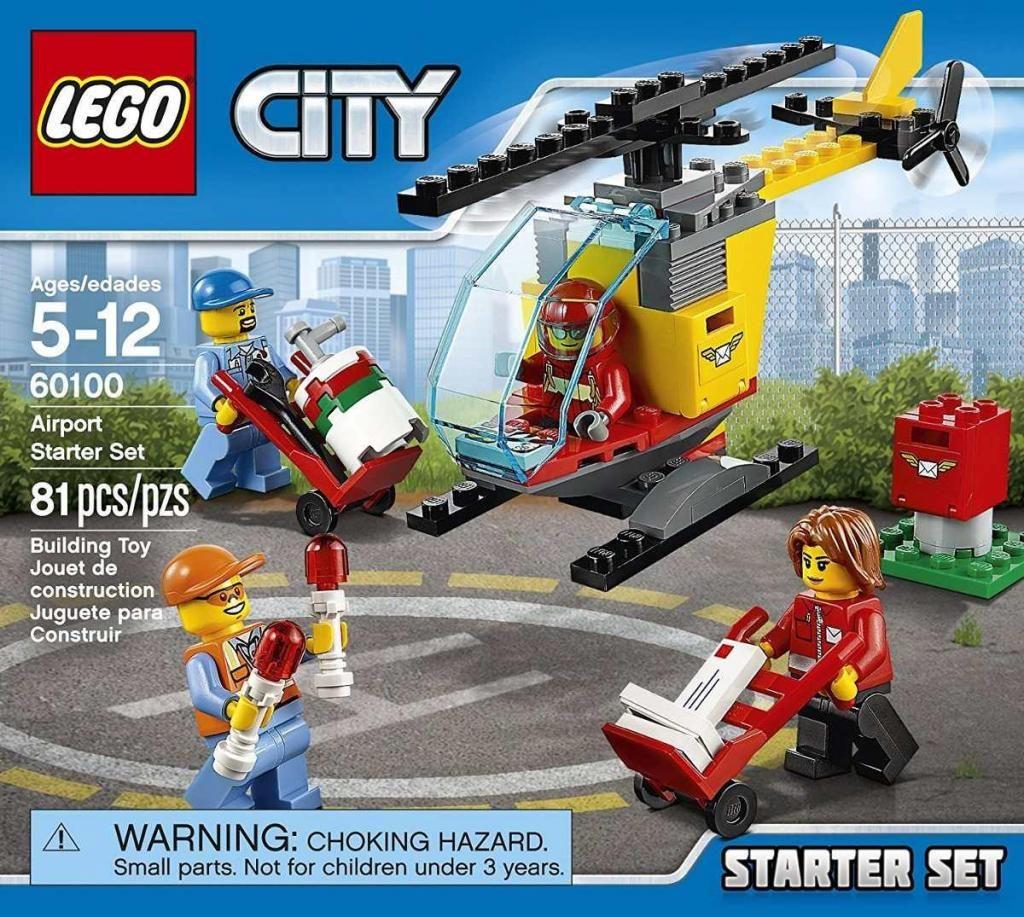 Lego  City Airport Starter Set, Building Kit