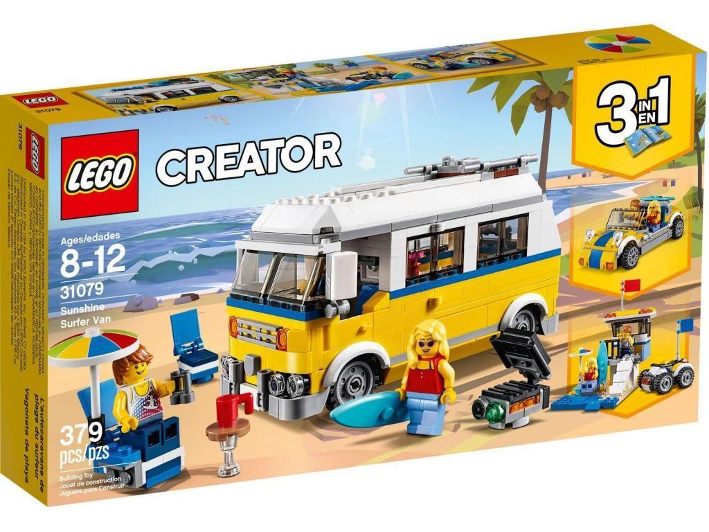 Lego Creator  Furgoneta de playa