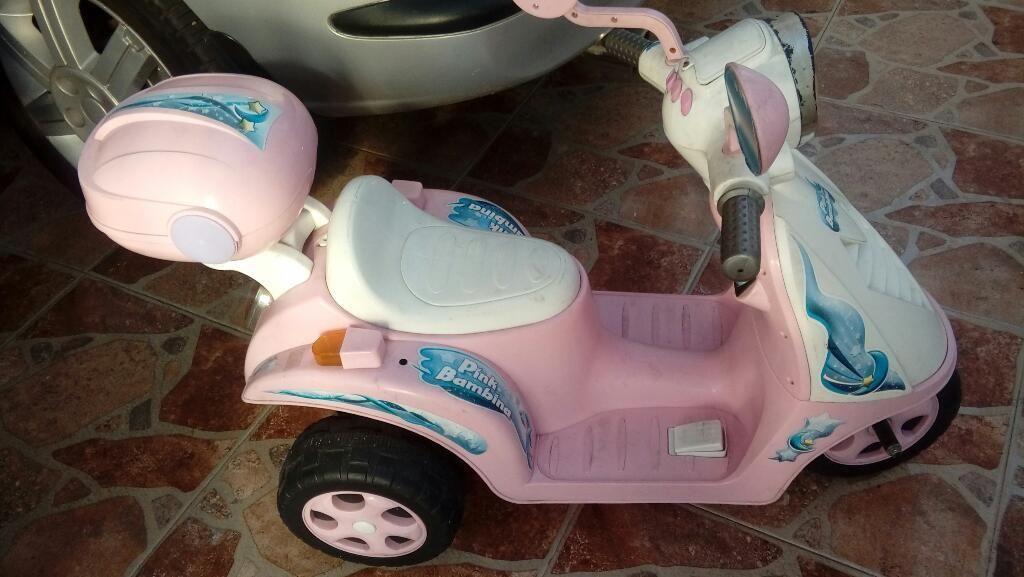 Moto para Niña con Bateria