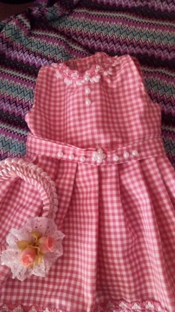 lindo vestido para recien nacida talla 0 nuevo