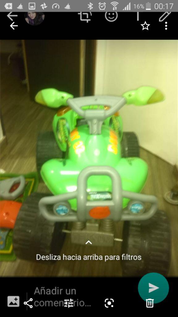 moto bateria recargable