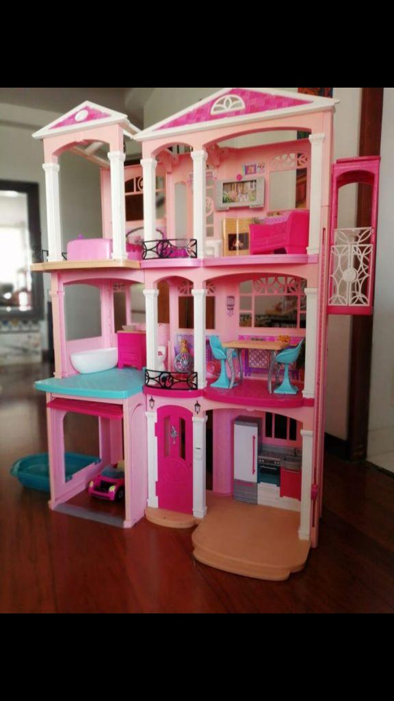 Barbie Casa De Los Sueos Matel
