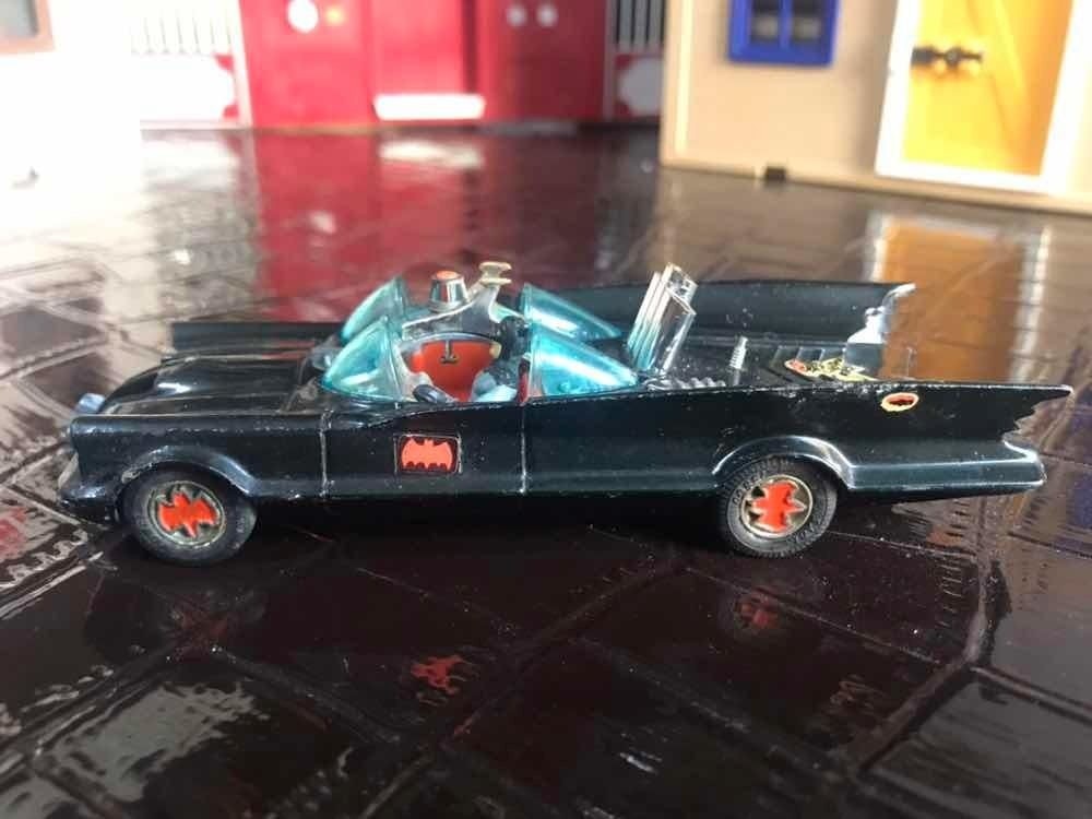 Batimobil Corgi Batman  Gt Britain Diecast Retro Metal