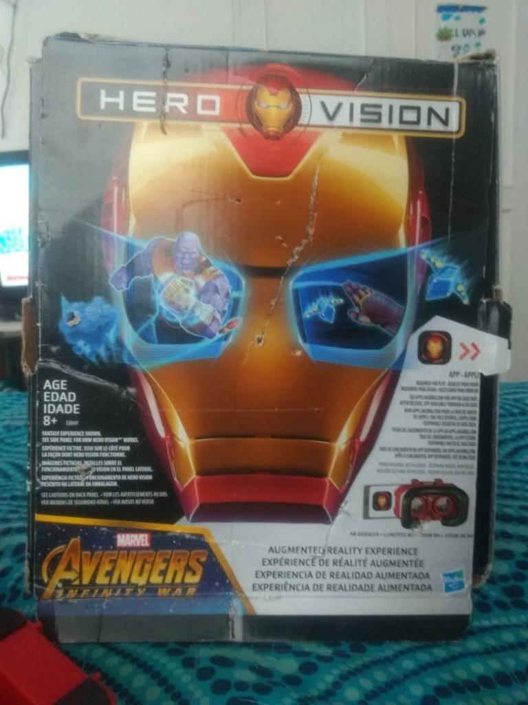 Máscara Avengers Hero Vision 3d
