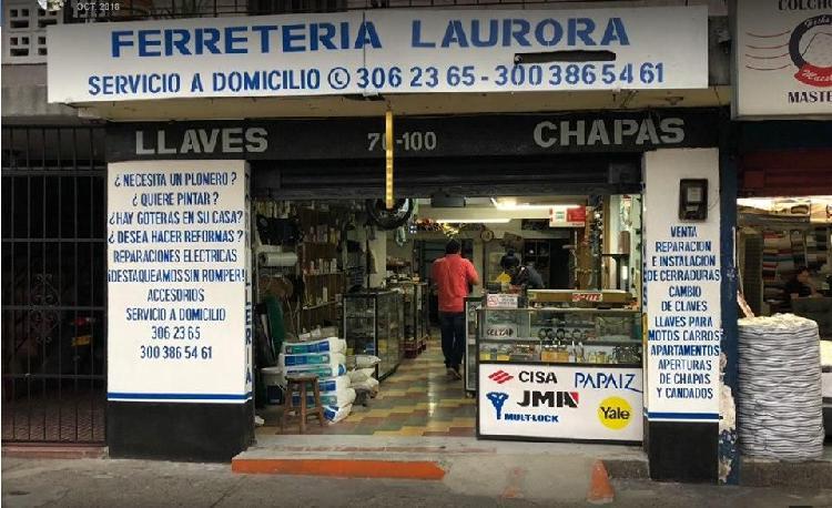 Se vende Ferreteria con mas de 10 años de funcionamiento
