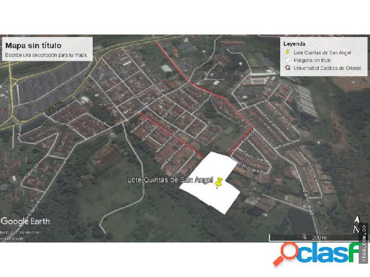 Venta de Lote para Construir en Rionegro