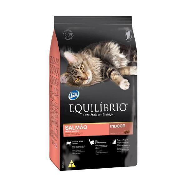 Alimento Equilibrio Gatos Adultos Salmón 1.5 Kg