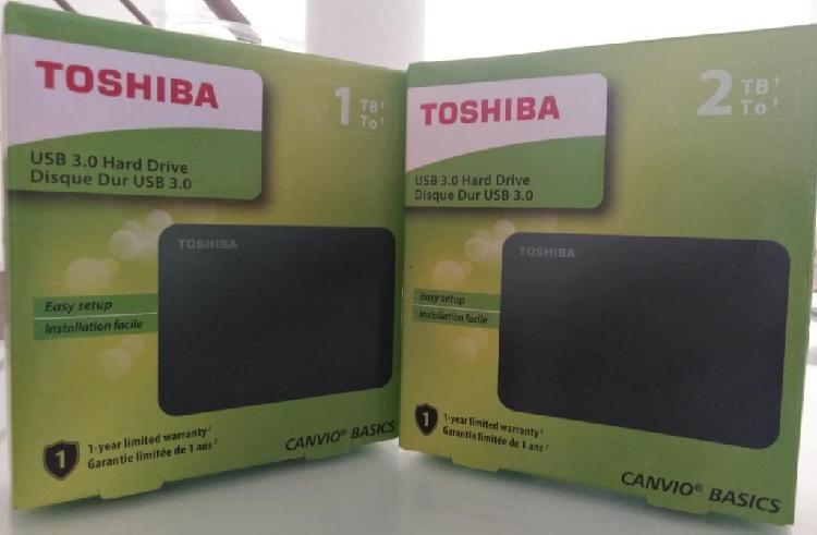 Discos Duros Externos Usb Toshiba