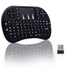 Mini Teclado Touchpad Inalámbrico Recargable Smart Tv Tv