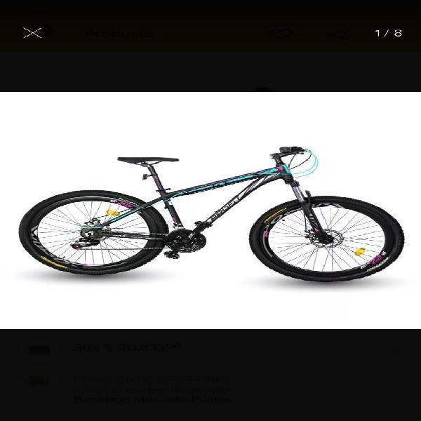 Bicicleta Marco en Aluminio 21vel