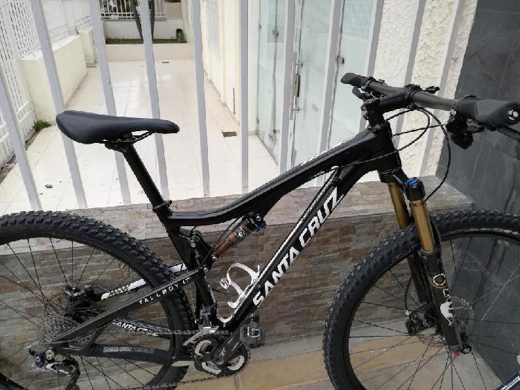 Bicicleta Santa Cruz en Carbono