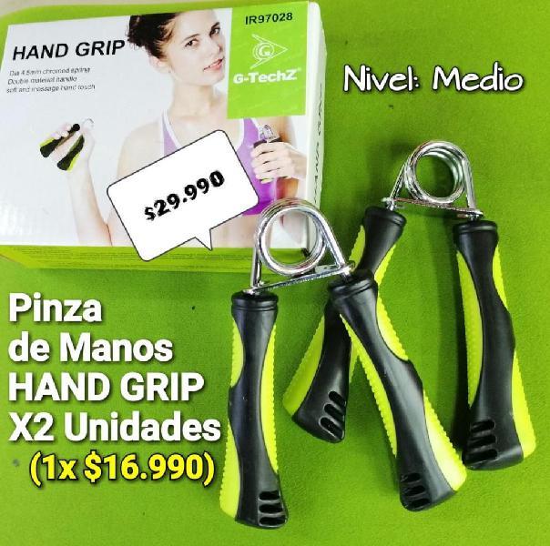 HAND GRIP O PINZA PARA MANO DE FUERZA X2