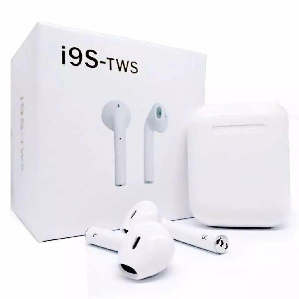 Audifono Bluetooth I9s Inalambr Celular Par Bateria Cabl