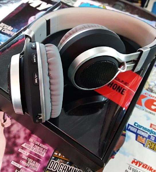 Audifonos Bluetooth BT5, MicroSd, Mp3 Micro Sd, Aux
