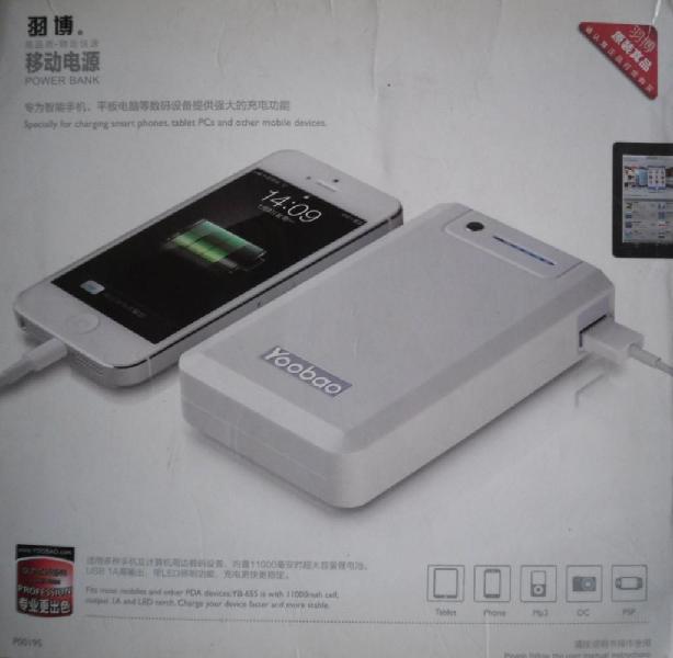 Batería Portátil Power Bank Bateria Externa 11.000 Mah Dos