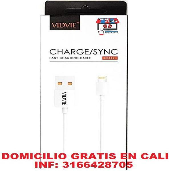 Cable iPhone CARGA RÁPIDA DOMICILIO GRATIS EN CALI