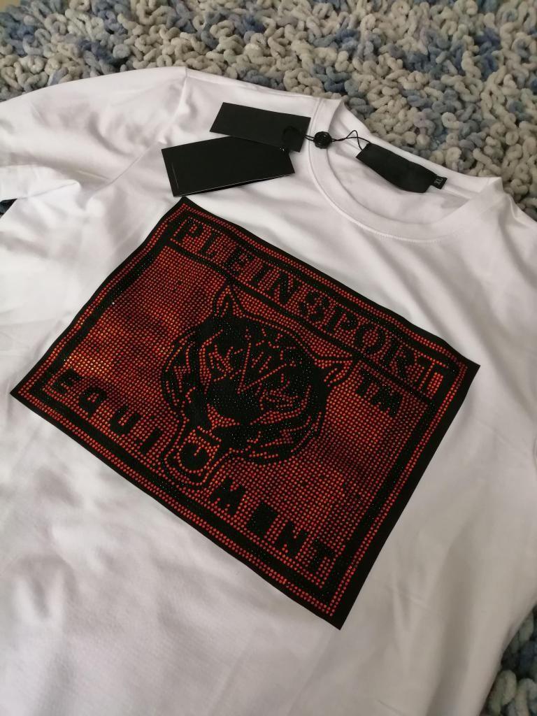Camisetas Phillip Plein importadas en seda fria