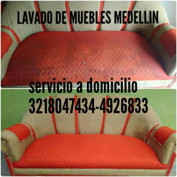 Lavado en Seco de Muebles Medellin