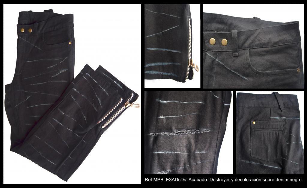 Pantalón de Jean negro para hombre Talla 32