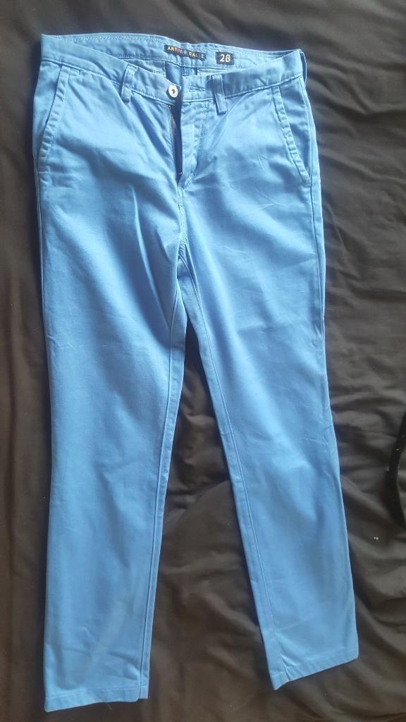 Pantalon Arturo Calle Azul Talla 28