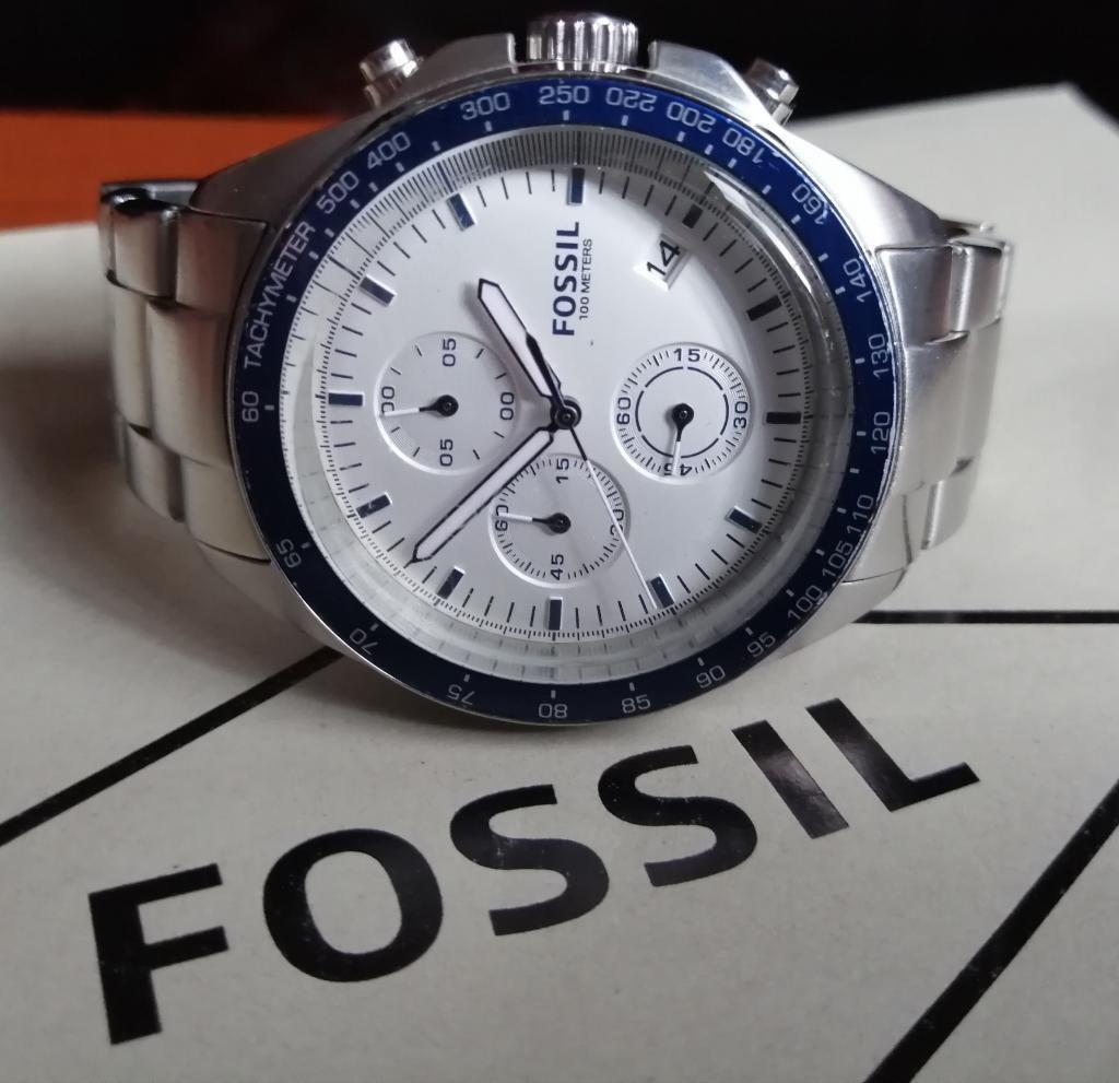 Reloj Fossil CH Sport 54 Cronografo Vintage Original